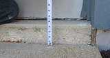 Sinking or Uneven concrete repair