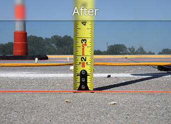 After PolyLevel® highway repair